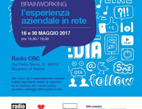 "Workshop ""Brainworking – L'esperienza aziendale in rete"""