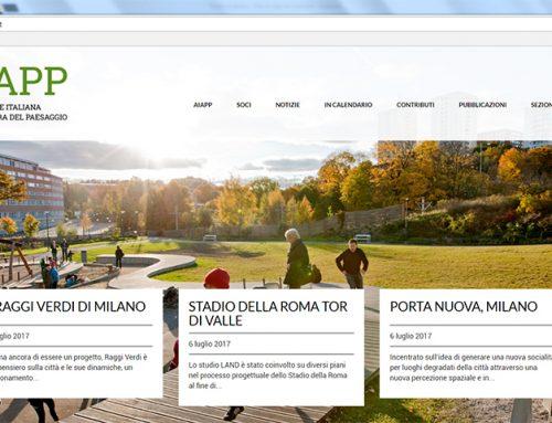 AIAPP, nuovo sito web per la community di architettura del paesaggio