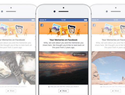 Facebook riorganizza i nostri ricordi per migliorare la user experience