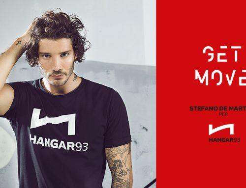 Stefano De Martino è il nuovo testimonial di HANGAR93