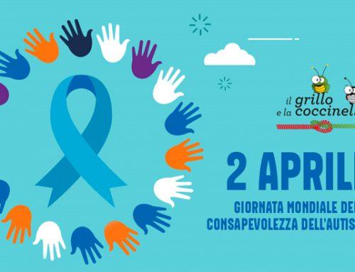 """""""Il Grillo e la Coccinella A.GE.C."""" in campo per la XI Giornata Mondiale della consapevolezza dell'autismo"""