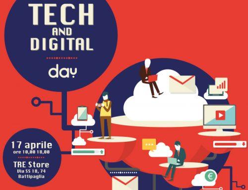Tech and Digital Day, il 17 aprile a Battipaglia (Sa) incontri gratuiti per innovare i processi aziendali.