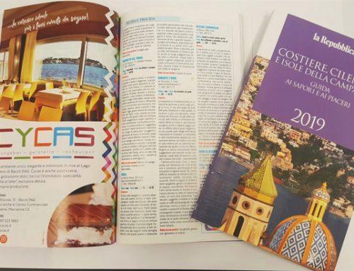 """Il Cycas tra le """"eccellenze"""" campane della nuova guida di Repubblica"""
