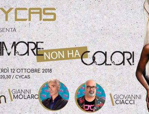 """Gianni Molaro al Cycas con la sfilata """"L'amore non ha colori"""""""