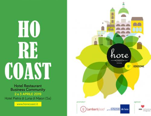 HoReCoast, il 2 e 3 aprile torna in Costiera Amalfitana la fiera-evento dedicata ai professionisti del mondo Horeca