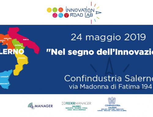 Innovation Road Lab, il 24 maggio in Confindustria Salerno la prima tappa del progetto