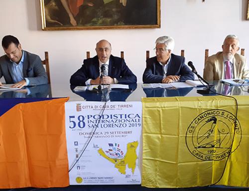 """Paolo Trapanese il testimonial della 58ª """"Podistica Internazionale San Lorenzo"""""""