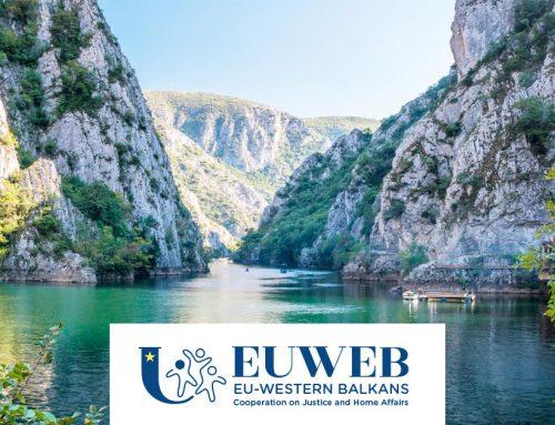Euweb, il modulo per la cooperazione tra Europa e Balcani Occidentali in materia di giustizia e affari interni.