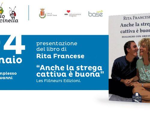 """""""Il Grillo e la Coccinella"""", il 4 gennaio la presentazione del libro """"Anche la strega cattiva è buona"""" a Cava de' Tirreni"""