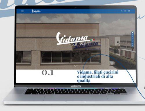 Vidama, il nuovo sito web online