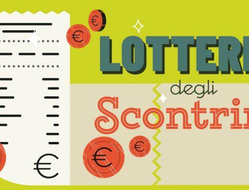 """Il 1° gennaio parte la """"Lotteria degli Scontrini"""", ecco come partecipare"""