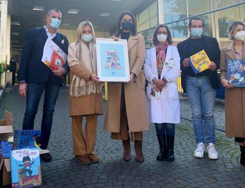Istituto Sa.Dra., donati oltre 100 libri per ragazzi alla Fondazione Santobono-Pausilipon